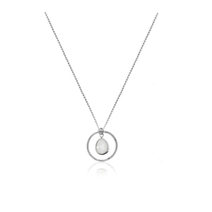 Halo Around the Moon Necklace