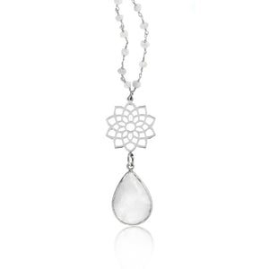 Heavenly Protection Necklace- Moonstone
