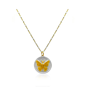 Butterflies Are Free- Silver/Gold