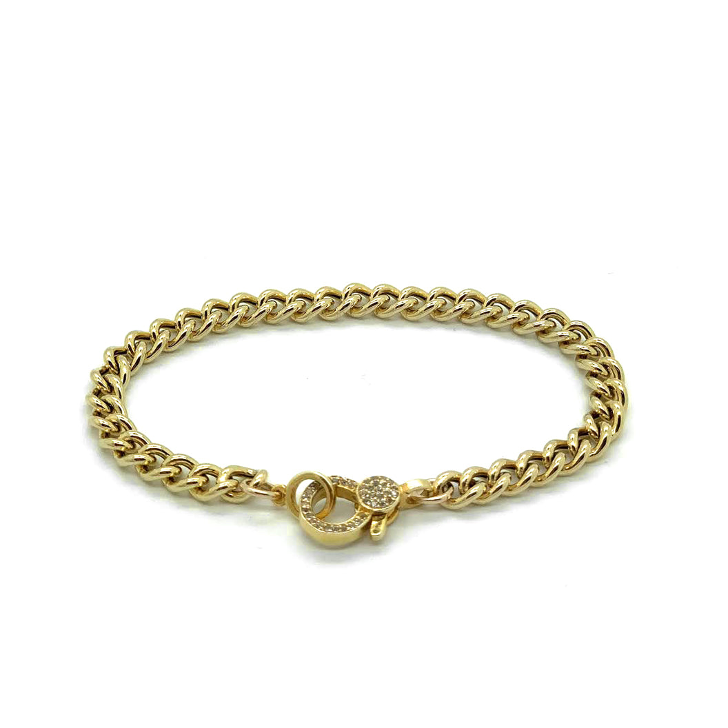 Chunky Gold Chain with Clasp
