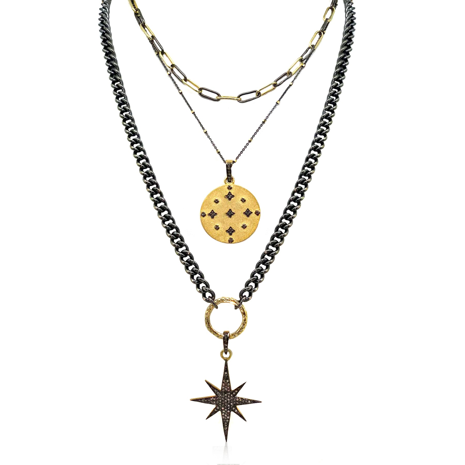 The Darkest Skys Have The Brightest Stars Necklace.