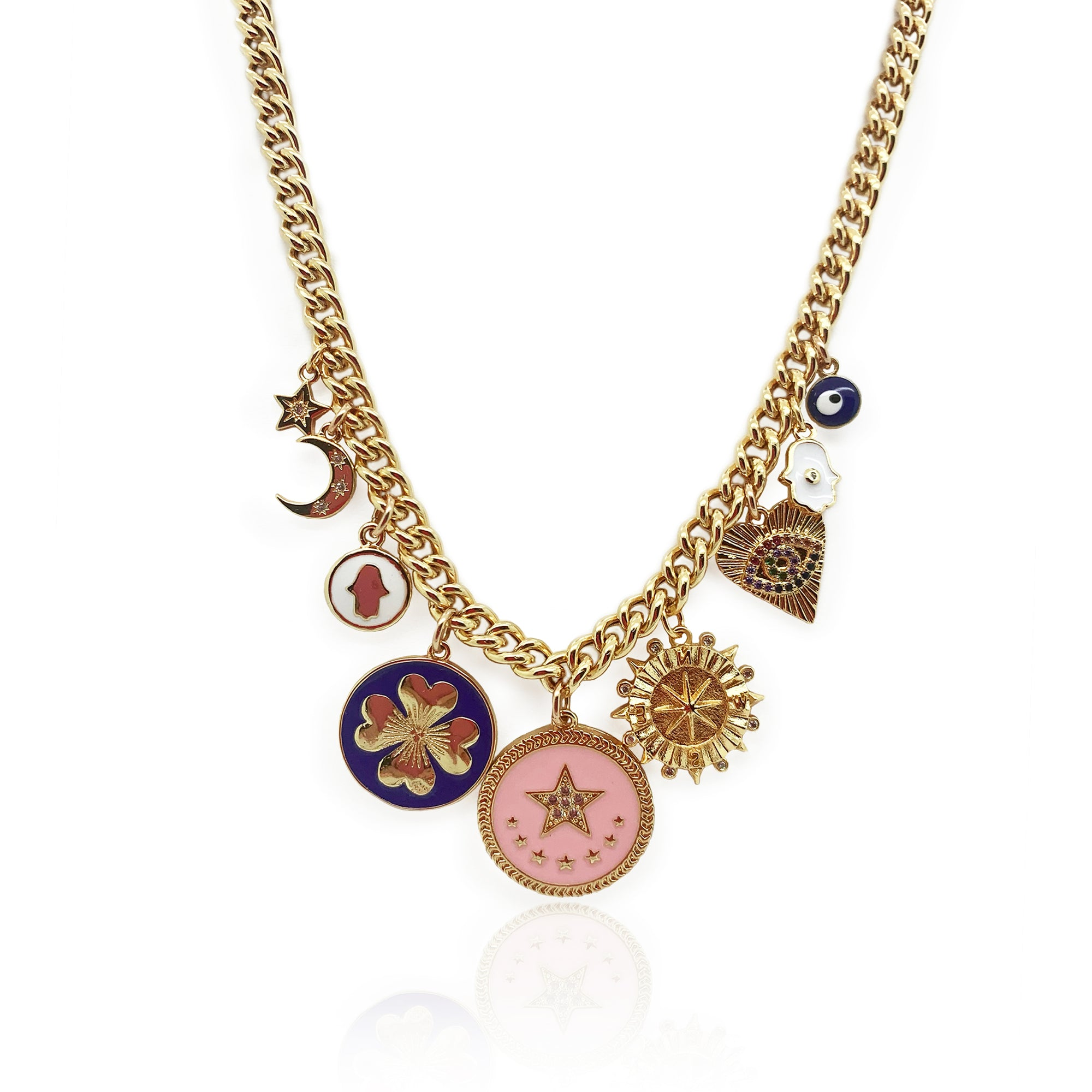 Marci Lucky Charm Necklace