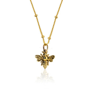 Shop For A Cause Bee Necklace - Bronze