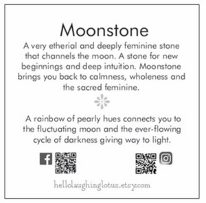 Mist Over Avalon Moonstone Necklace