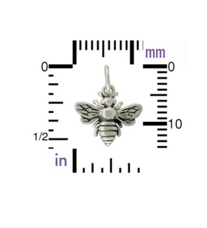 Shop For A Cause Bee Necklace- Silver