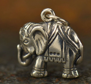 Shop For A Cause Elephant Necklace - Silver
