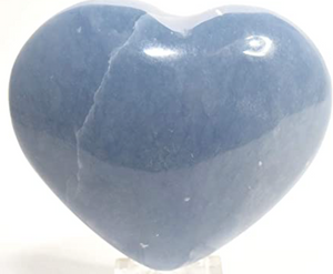 Crystal Heart Stones - Medium