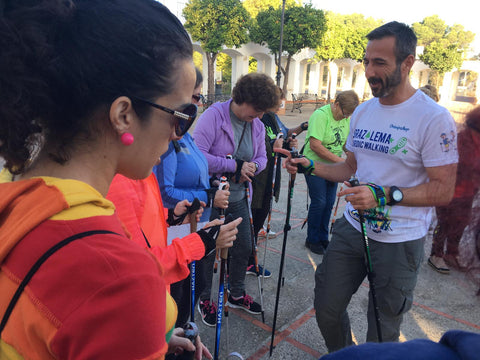 nordic walking cadiz