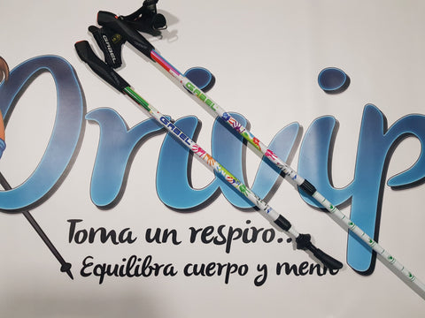 Bastones Infantiles Junior nordic walking senderismo Gabel Energy