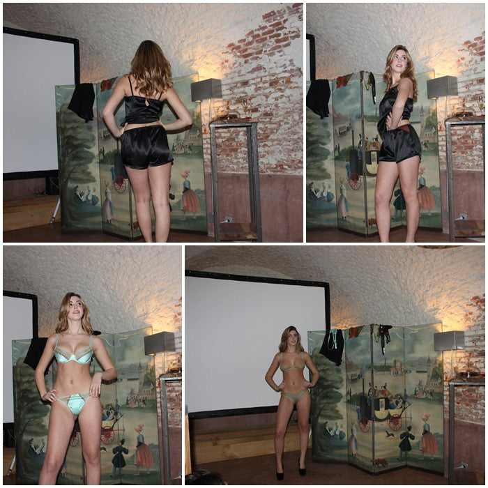 """Esta Noche Soy Una Princesa"" comes to the launch of Almu Lingerie"