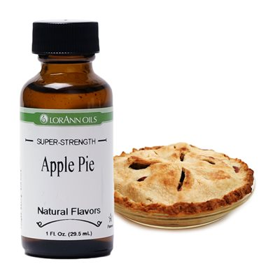 Lorann Oils Apple Pie Flavor 1oz.