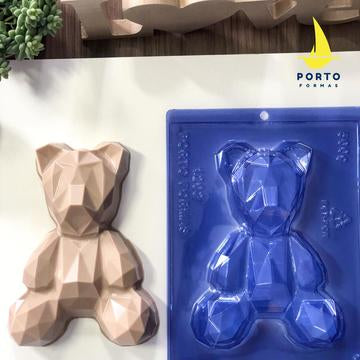 GEOMETRIC BEAR Porto Formas 3 Part Chocolate Mold