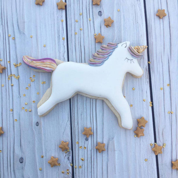 Unicorn Cookie Cutter 4 1/2""