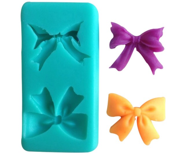 Bow Duo Silicone Mold