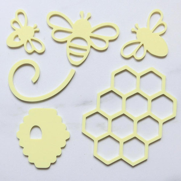 SWEET STAMP Oh Honey Bee Element Kit