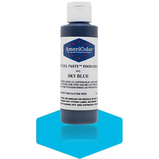 SKY BLUE Americolor Gel Paste | 4.5 oz.