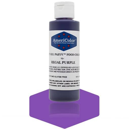 REGAL PURPLE Americolor Gel Paste 4.5 oz.