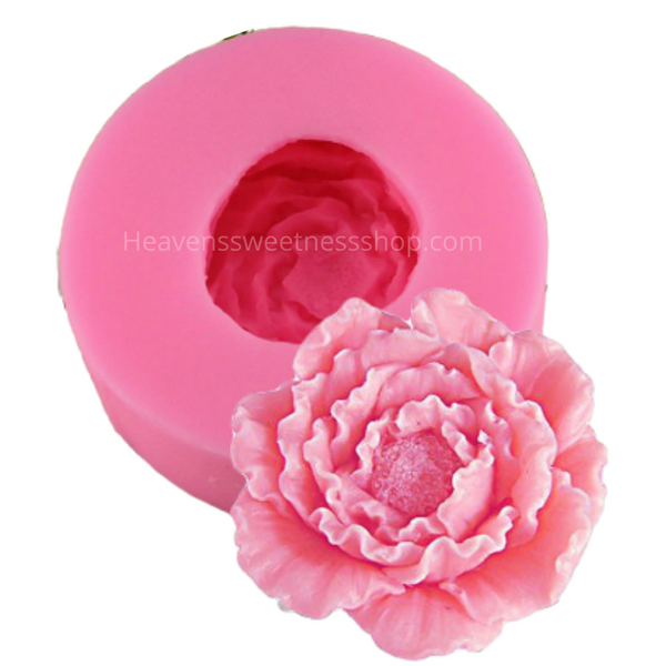 3D PEONY Silicone Mold