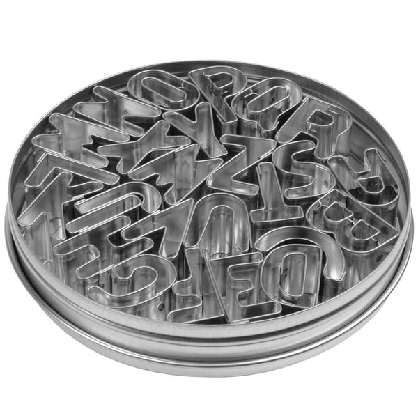 Ateco Alphabet Metal Cutter Set