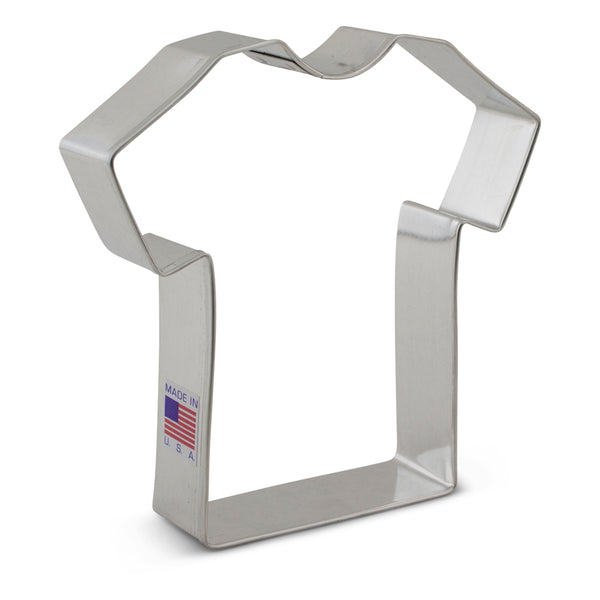 "Large T Shirt Cookie Cutter 4 3/8"" x 4 3/8"""