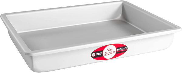"SHEET CAKE 9""X13""X3"" Fat Daddios Baking Pan"