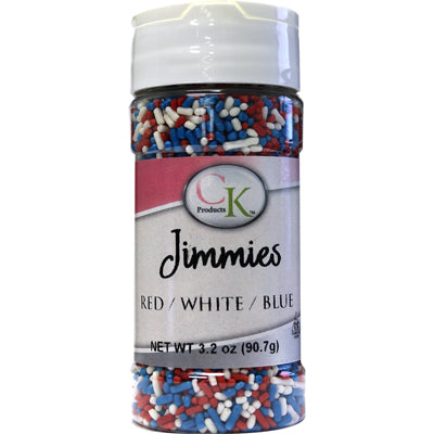 RED, WHITE, & BLUE Jimmies 3.2 oz. | KOSHER