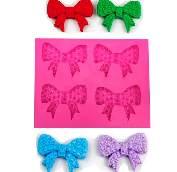 Jeweled Bow Collection Silicone Mold (8824741959)