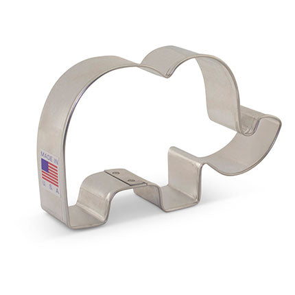 "Cute Elephant Cookie Cutter 2 1/2"" x 4 1/8"""