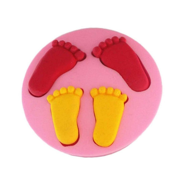 Baby Feet Silicone Mold (6365215431)