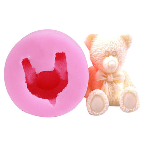 3D TEDDY BEAR Silicone Mold