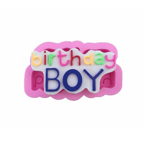 Birthday Boy Silicone Mold