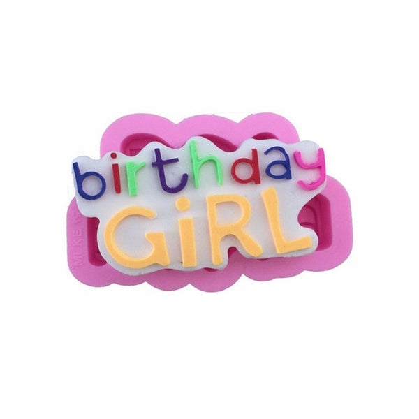 Birthday Girl Silicone Mold