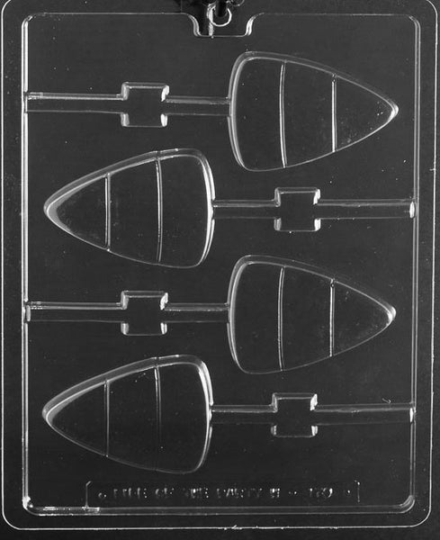 LARGE CANDY CORN LOLLY Chocolate Mold