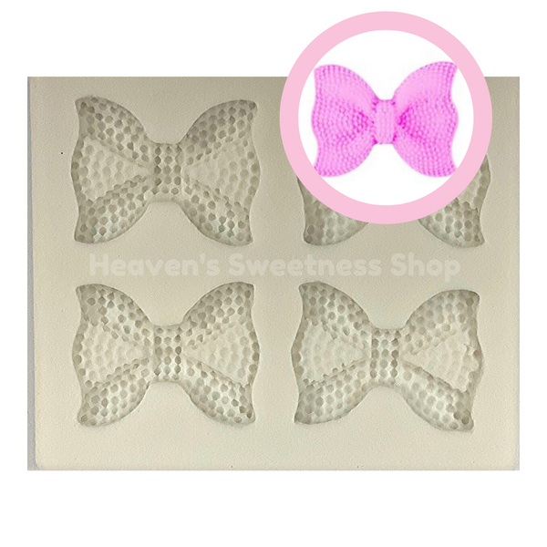 MINI JEWELED BOW Silicone Mold