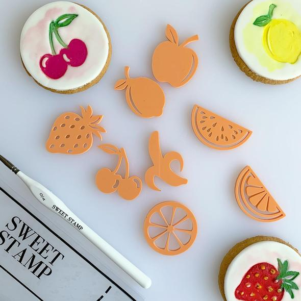 TUTTI FRUTTI Sweet Stamp Elements