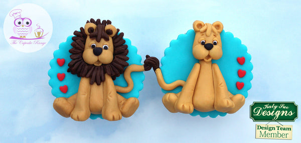 Sugar Buttons - LION Silicone Mold