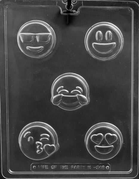EMOJI COOKIE Chocolate Mold