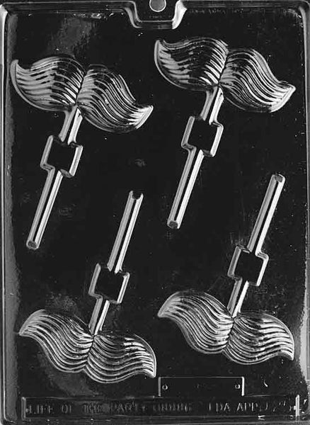 MUSTACHE LOLLY Chocolate Mold (4334017223)