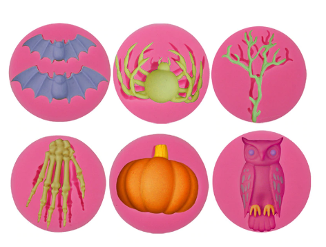 SPOOKY Silicone Mold Set