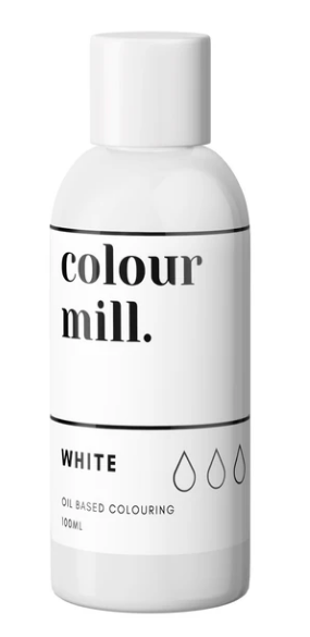 WHITE Colour Mill 100ml
