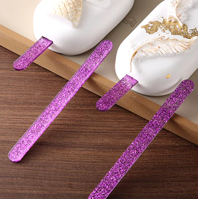 GLITTER Popsicle Sticks 10/Pack