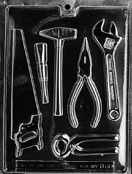 Tools Assortment Chocolate Mold