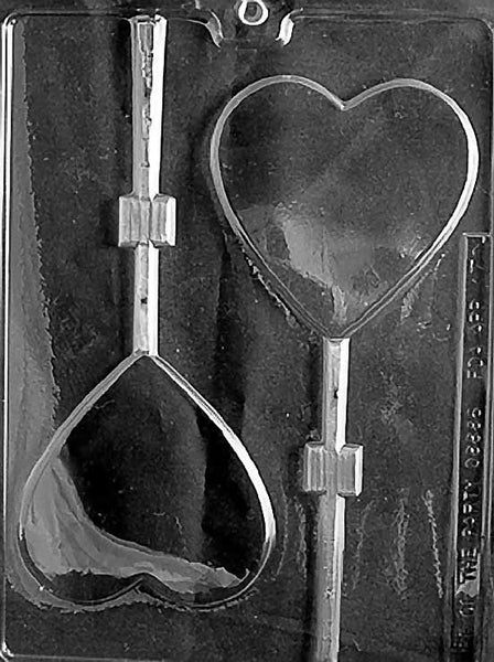 LARGE HEART LOLLY Chocolate Mold
