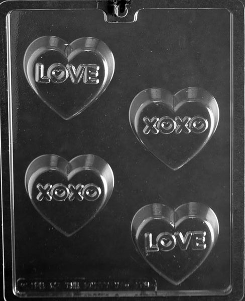 LOVE XO Cookie (Oreo) Chocolate Mold