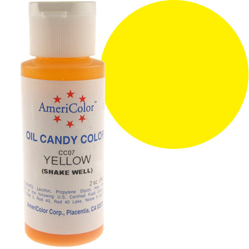 Americolor Candy Coloring - YELLOW