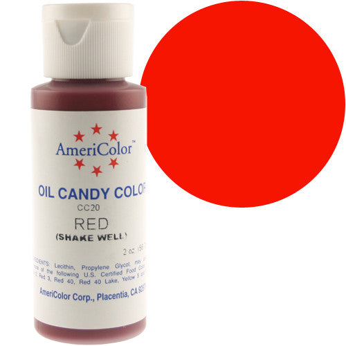 Americolor Candy Coloring - RED