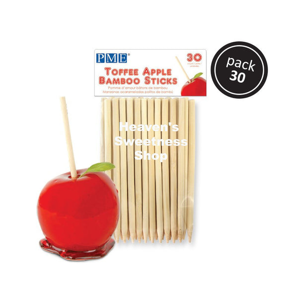 Bamboo Apple Sticks