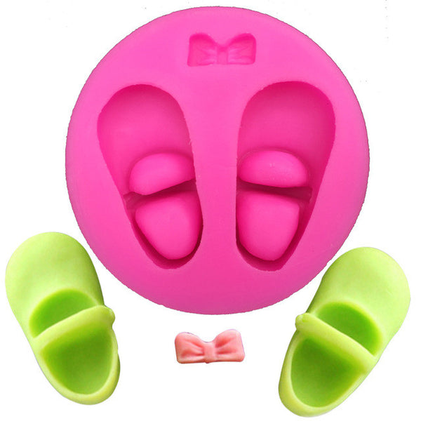 Baby Shoes Silicone Mold (5732333575)