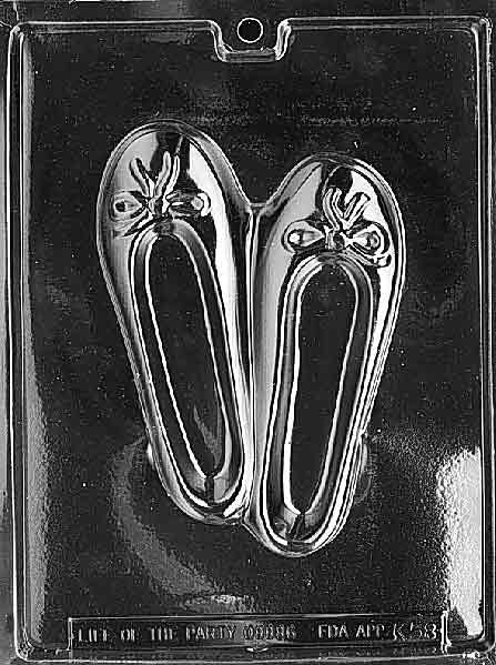 BALLET SLIPPER Chocolate Mold (4333805191)