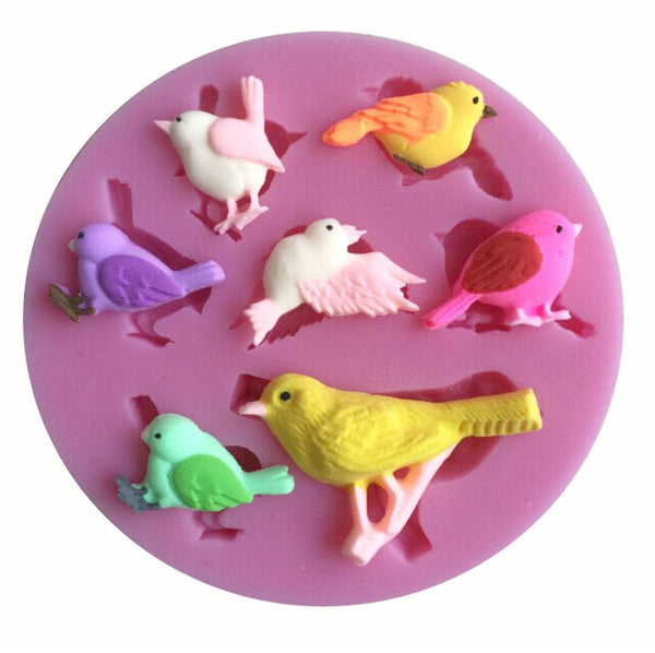 Birds & Branches Silicone Mold (6359097223)